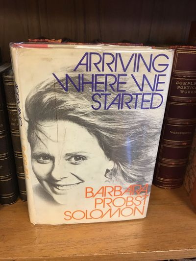 New York: Harper & Row, 1972. First Edition, First Printing. Hardcover. Octavo, 261 pages; VG/VG-; w...