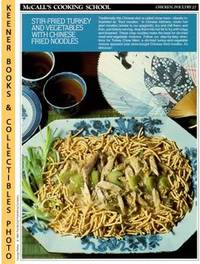 McCall's Cooking School Recipe Card: Chicken, Poultry 27 - Turkey Chow  Mein (Replacement...