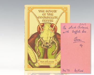 San Francisco: Straight Arrow Books, 1973. First edition of Oscar Zeta Acosta's final novel, publish...