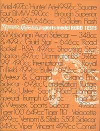 Motor Cycling Sports Model Road Tests