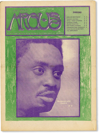Ann Arbor, 1969. First Edition. Paperback. Early issue of this short-lived bi-weekly counterculture ...