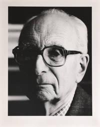 Portrait photographique de Claude Lévi-Strauss par Bruno de Monès (tirage vintage signé)