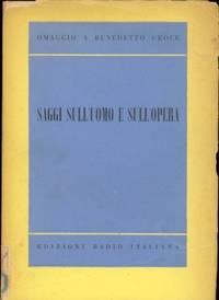 SAGGI SULL'UOMO E SULL'OPERA by AA. VV - Paperback - 1953 - from Libreria MarcoPolo (SKU: 13351)