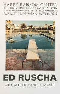 Ed Ruscha: Archaelogy and Romance (poster)
