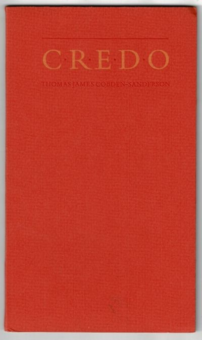 Toronto: Aliquando Press, 1980. Edition limited to 100 copies designed, printed and bound by William...