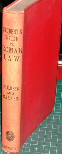 image of Student's Guide to Roman Law (Justinian and Gaius)