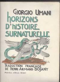 Horizons d'histoire surnaturelle