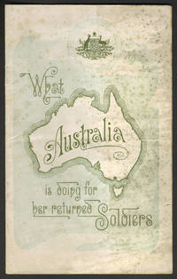 image of What Australia is doing for her returned Soldiers. Pamphlet