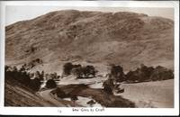 image of Monochrome View of Sma'Glen by Crief, Scotland, UK on Real Photo Postcard - CA 1940s-50s