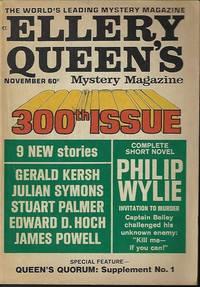 """ELLERY QUEEN'S Mystery Magazine: November, Nov. 1968 (""""Queen's Quorum: Supplement..."""