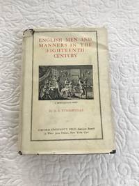 English Men and Manners in the Eighteenth Century
