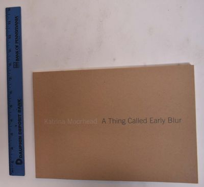 Houston, Texas: Blaffer Gallery, 2007. Softcover. VG. Tan paper wraps with white and gray lettering ...