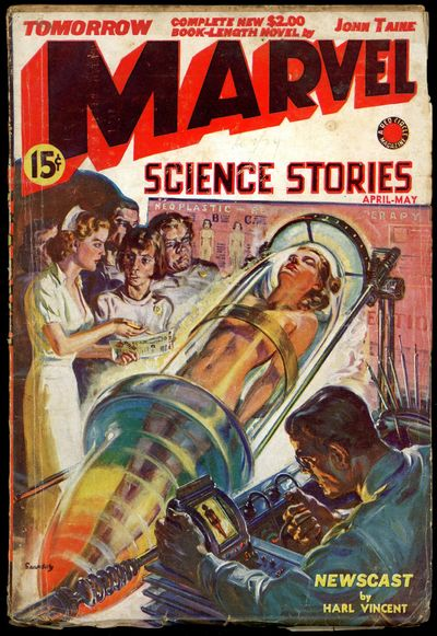 MARVEL SCIENCE STORIES
