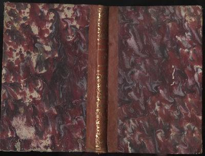 Mexico: Ignacio Cumplido, 1854. First Edition. Hardcover (Quarter Leather). Very Good Condition. Qua...