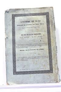 Percement de l'Isthme de Suez. Meetings Anglais en faveur du Canal de Suez. Quatrième...