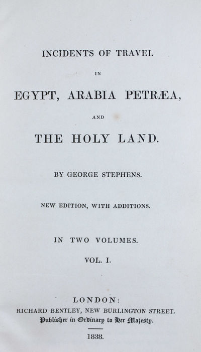 London: Richard Bentley, 1838. New edition, with additions. Hardcover. g+ to vg. Small octavo (7 1/2...