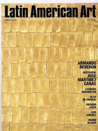 image of LATIN AMERICAN ART SPRING 1992 VOLUME 4 NUMBER 1