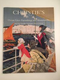 Christie's East  Ocean Liner Furnishings and MemorabiliaThursday 7 November 1996 at 11:00 am