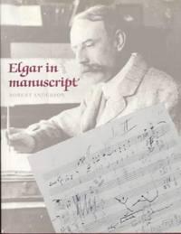 image of Elgar in Manuscript