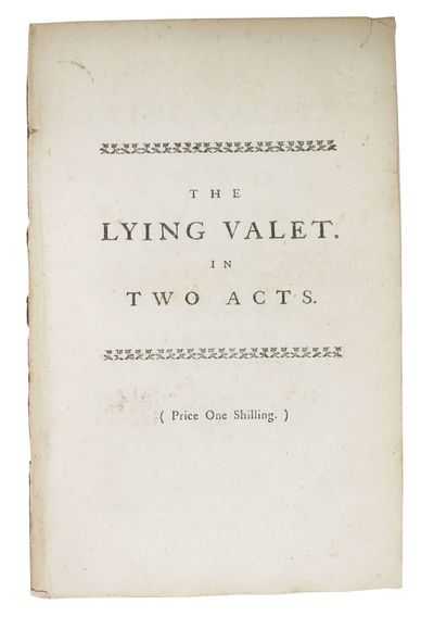 London: Printed for Paul Vaillant, 1769. The Seventh Edition (Berkowitz 24). Disbound, now housed in...