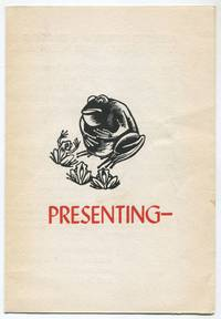 image of [Publisher's Advertisement]: Presenting a Limited Edition of a Woodcut Book, being Aesop's Fables, retold by Elfriede Abbe