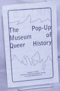 image of The Pop-up Museum of Queer History [brochure] Jan. 14, 2011 1st Annual QuORUM Forum