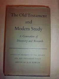 The Old Testament and Modern Study