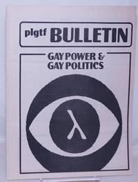 image of PLGTF Bulletin vol. 2, #6, June, 1980: gay power & gay politics