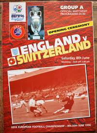 image of Opening Ceremony England v Switzerland Saturday 8th June 1996