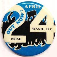 April 24 / NPAC / Wash, DC [pinback button]