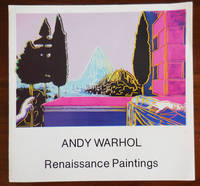 Andy Warhol Renaissance paintings (Exhibition Announcement Card)