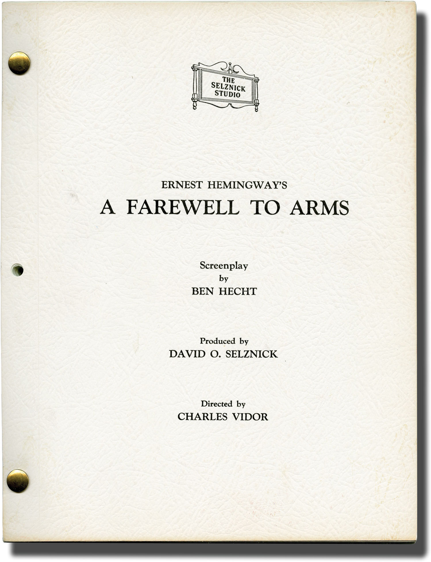 a farewell to arms is more Quotes from a farewell to arms, a novel by ernest hemingway the popularity of this work contributed to hemingway's status as a literary legend.