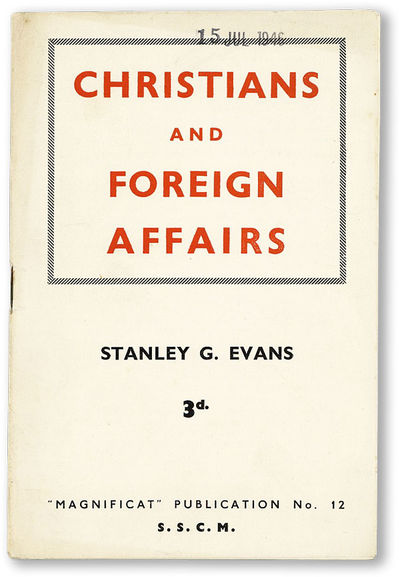 : Society of Socialist Clergy and Ministers (S.S.C.M.), (1946). First Edition. Pamphlet. Staple boun...