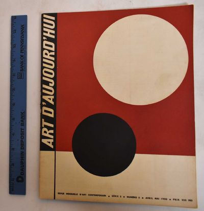 Paris: Art d'Aujourd'hui, 1950. Softcover. VG-, slight wear along edges, slightly soiled/rubbing on ...