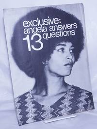 Exclusive: Angela answers 13 questions