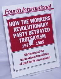 image of Fourth International 1986, vol. 13, No. 1, Summer A Journal of Revolutionary Marxism
