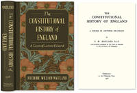 The Constitutional History of England. A Course of Lectures..