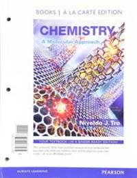 Chemistry: A Molecular Approach, Books a la Carte Plus Mastering Chemistry with Pearson eText --...