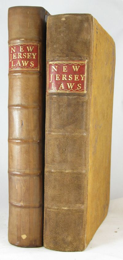 1752. NEW JERSEY. LAWS. The Acts of the General Assembly of the Province of New-Jersey, from the Tim...