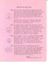 News from the Sand Castle [leaflet mailed to SDS members by the FBI as part of a COINTELPRO misinformation campaign]