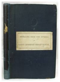 Extracts from the Journal of Lord R. Grosvenor; being an Account of his Visit to the Barbary Regencies in the Spring of 1830