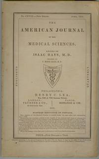 The American Journal of the Medical Sciences April 1870