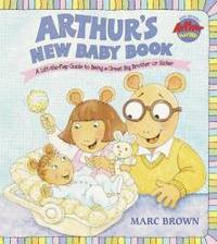 arthurs new baby book great big board book