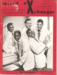 RECORD EXCHANGER,  Volume 3, No. 5,  Consecutive Issue 16,  Fall 1973:; The First and Foremost Publication Covering the History of Rock and Roll