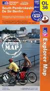 image of South Pembrokeshire (OS Explorer Map Active)