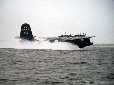 New York, NY: U.S. Navy: Photo Lab NAS NYNY, 1949. Two black and white photographs of this jet, same...