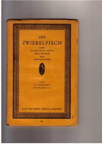 IX. Jahrgang 1918. Doppelheft 1/2. Eine Kleine Zeitschrift Über Bücher Und  Andere Dinge.