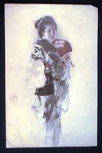 C 1890 Chromolithographed Image of a Japanese Woman by (Japan) - from Certain Books, ABAA (SKU: 17306)