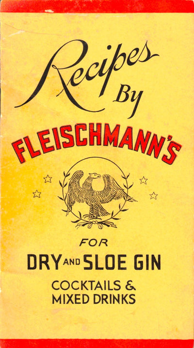 NY: Fleischmann Distilling Corporation, . Paperback. Very good. 6 by 3.5 inches. pp. Rubbed overall ...