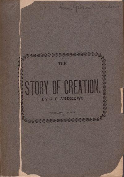 Greenville, Georgia: Vindicator Job Print, 1901. First Edition. Wraps. Fair. Gray wraps. , 233 pages...